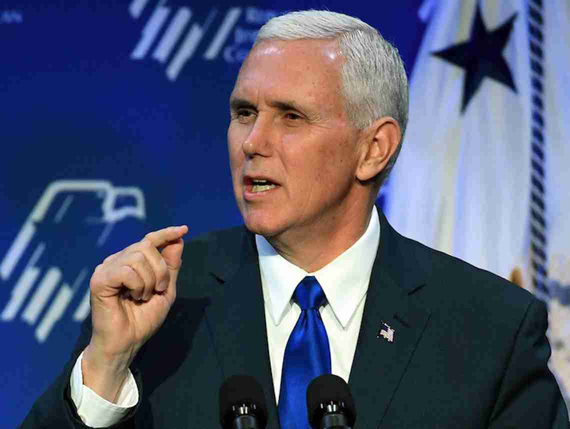 doubting the loyalty of pence