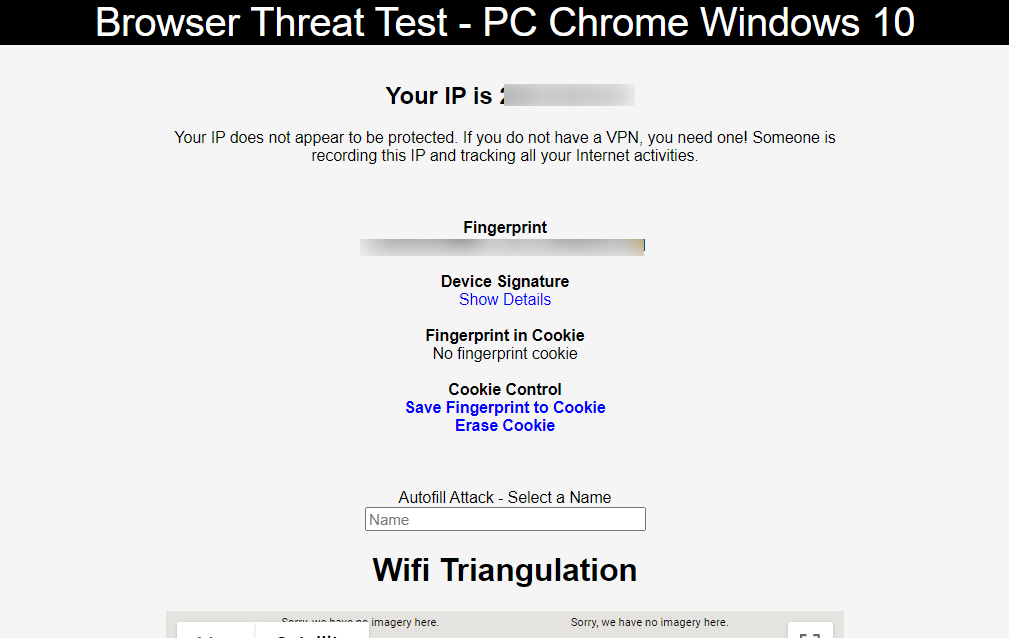 best conservative web browser privacy doesn't send out a browser fingerprint