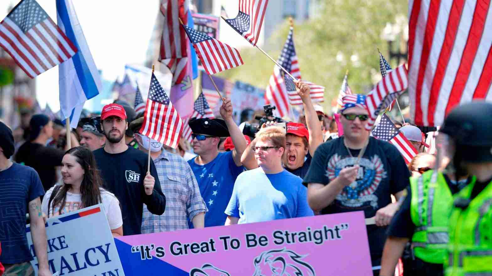 Maga Guide of goals and rules against street protest increase effectiveness